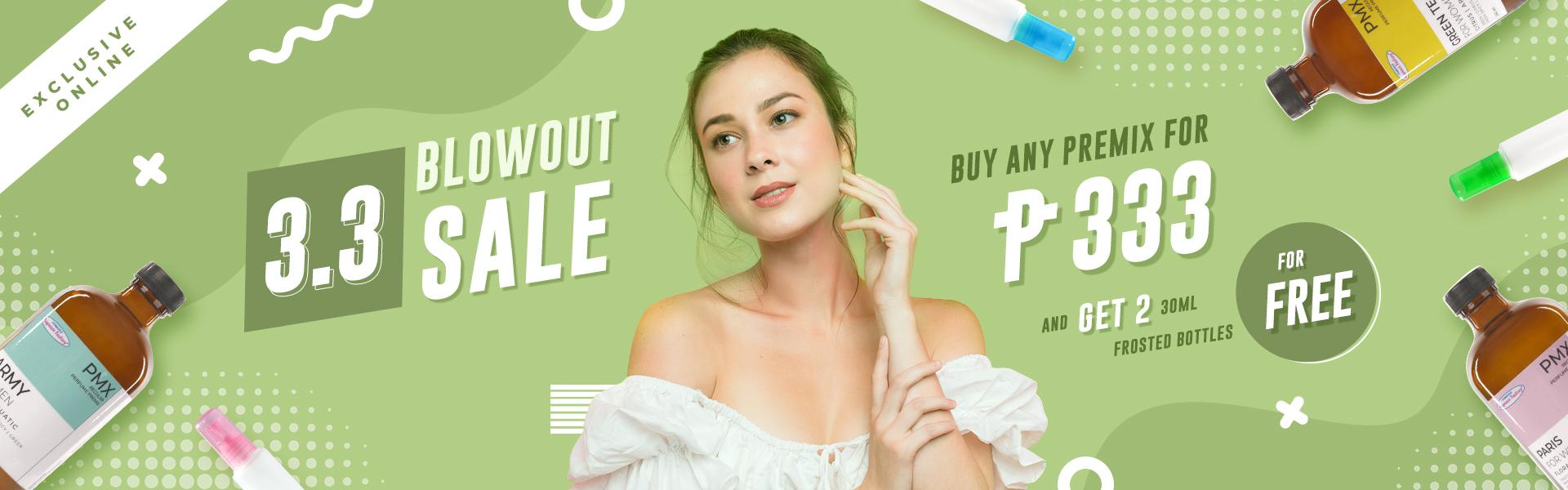 3.3 blowout sale webstore banner